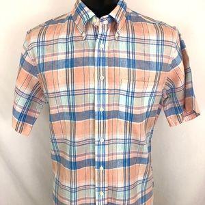 Brooks Brothers Regent Button Up Shirt Linen L